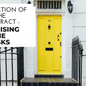 PREVENTING TERMINATION OF THE CONTRACT – MINIMISING THE RISKS