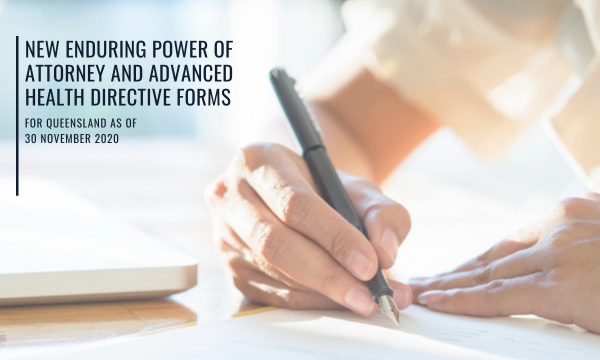 new power of attorney forms