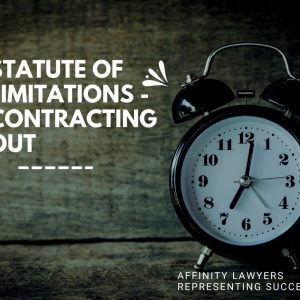 Price v Spoor [2021] HCA 20 – CONTRACTING OUT OF STATUTORY LIMITATION PERIODS